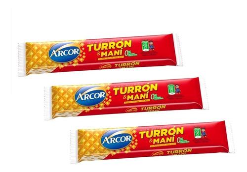Turron De Mani Arcor - X 30 U - Lollipop