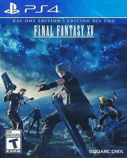 Final Fantasy Xv Day One Ps4 Fisico Comercializadora Dya
