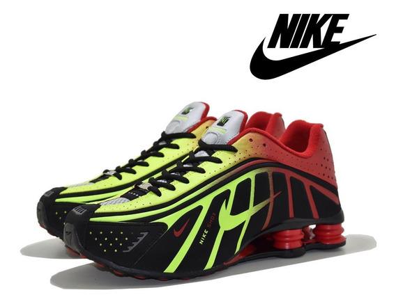 Tênis Masculino Nike Shox R4 Neymar Jr. Lançamento Promoção