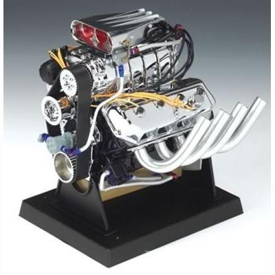 Miniatura Réplica Motor Hemi 426 Dragster Escala 1:6