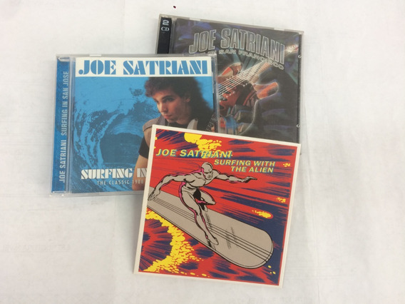 Joe Satriani Lote 4cd