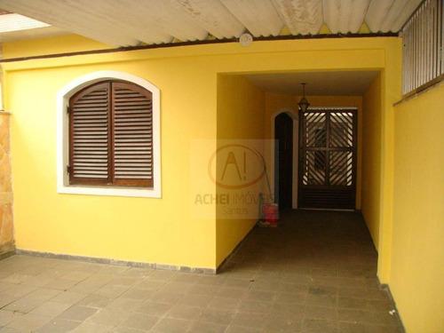 Imagem 1 de 30 de Casa À Venda, 186 M² Por R$ 420.000,00 - Catiapoã - São Vicente/sp - Ca1224