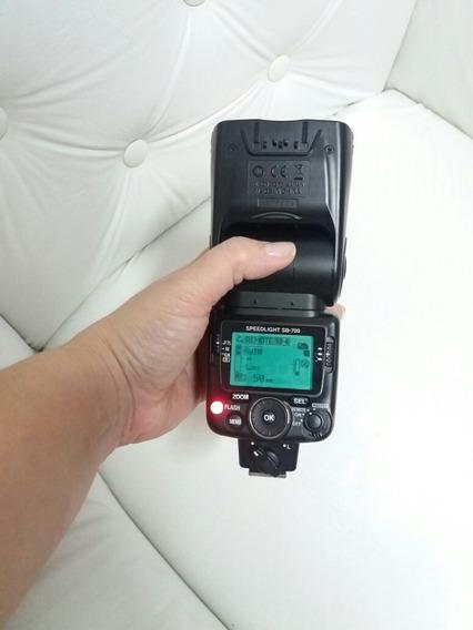 Flash Nikon Original Sb700 Usado 2 Vezes, Promoção Completo