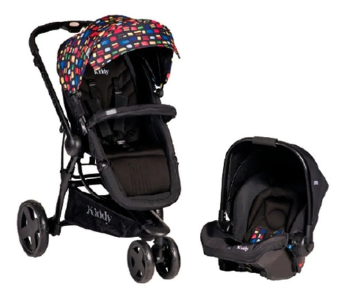 Cochecito Carrito Travel System Kiddy Compass Plus By Mnk