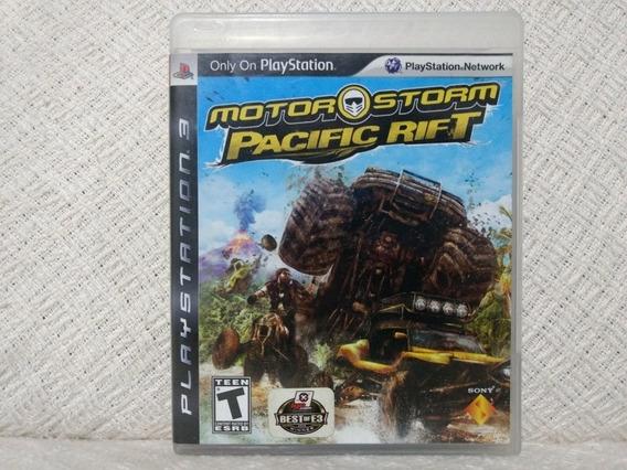 Jogo Ps3 Motor Storm Pacific Rift Mídia Física