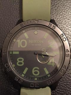 Reloj Nixon The 51-30 Sumergible 300 Metros Caja Acero
