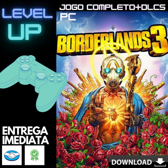 Borderlands 3 + Update 3 + Traduzido Pt