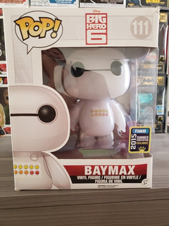 Funko Pop Baymax 111 Emoticons Summer Convention 2015