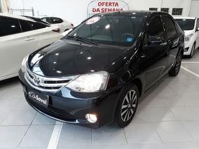 Toyota Etios Sedan Platinum 1.5 16v Flex, Gaj9135