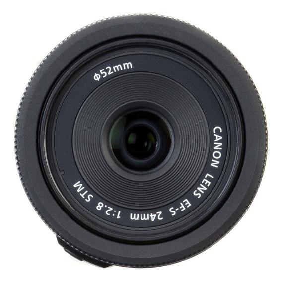 Lente Canon Ef-s 24mm 2.8 Stm
