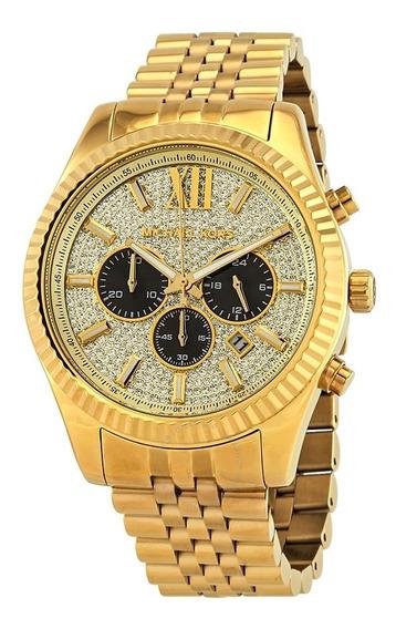 Reloj Michael Kors Lexington Mk8494 Original Nuevo Sellado