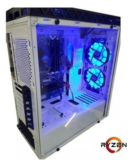 Cpu Gamer Ryzen3 2200 Vga Vega 2gb 8gb Ssd 120gb Windows