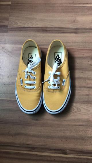 Tênis Vans Authentic Amarelo Feminino