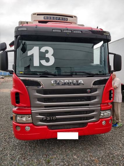 Scania P310 Bi Truck 8x2 + Câmara Fria 2013