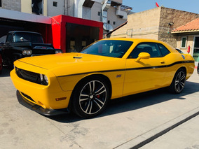 Dodge Challenger 6.4 Srt 8 392 V8 Gamuza/piel Qc Año:2012