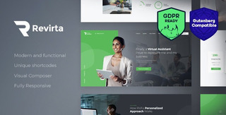 Tema Revirta - Virtual Assistant Wordpress Theme