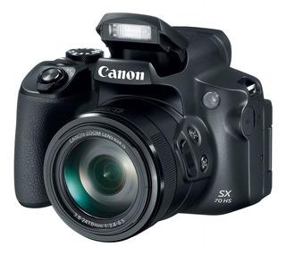 Camara Canon Powershot Sx70hs/ 65x Zoom, 4k, Wi Fi