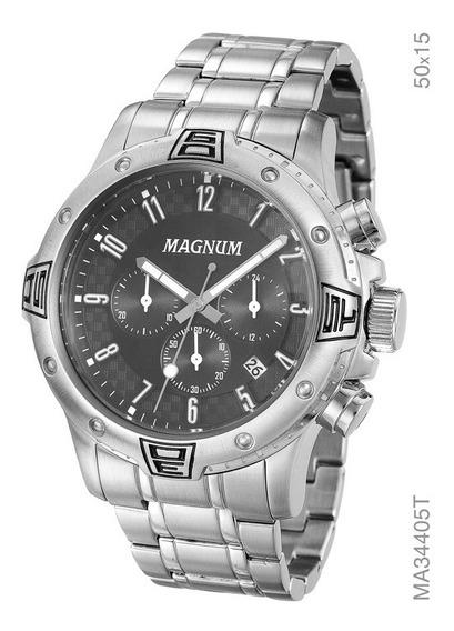 Relógio Magnum Masculino Cronógrafo Ma34405t