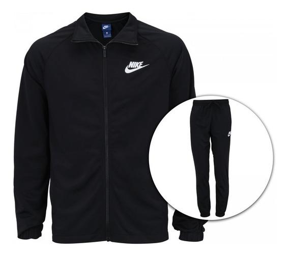 Agasalho Nike Sportswear Track Suit Masculino Preto 861780