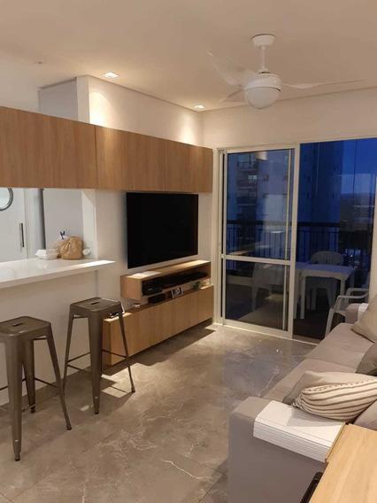 Lindo Apartamento De 3 Dorms Com Varanda Gourmet Em Barueri