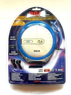 Discman Walkman Reproductor De Cd Rca Nuevo + Accesorios