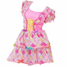 Vestido De Festa Junina Para Bebê Tamanho 1 Ano Caipirinha