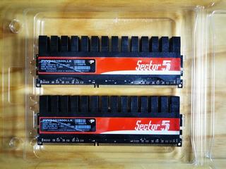 Memoria Ram Patriot Ddr3 4gb (2x2gb) 1600 Mhz