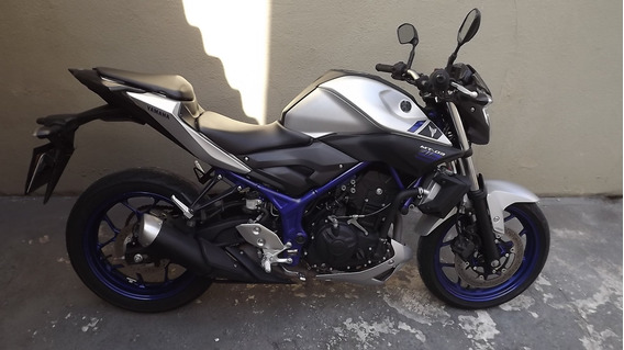 Yamaha Mt 03 Abs 2017 Prata