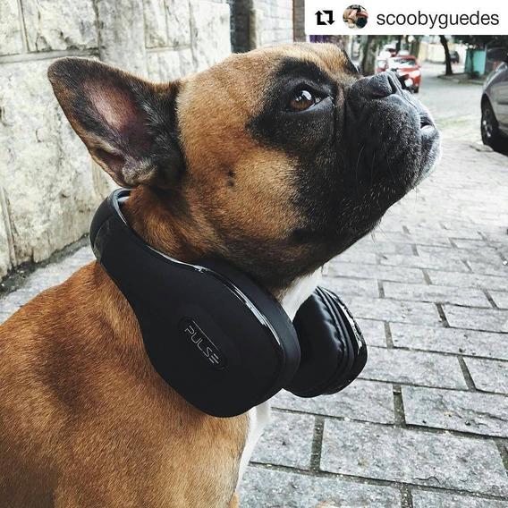 Fone De Ouvido Pulse Headphone Bluetooth Preto Ph150