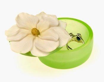 Caja De Recuerdo De Magnolia Por Ibis Y Orquidea 13002