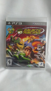 Ben 10 Galactic Racing - Nuevo Y Sellado - Ps3