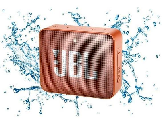 Caixa De Som Bluetooth Jbl Go 2 3w A Prova D