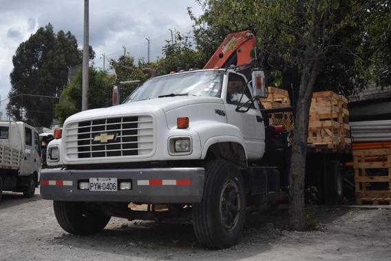 Vendo Camion Kodiak Con Grua Palfinger 10000