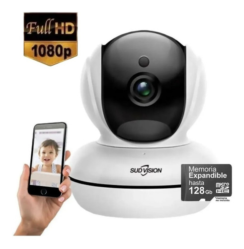 Camara Seguridad Ip Motorizada Fullhd 1080 P2p Wifi Martinez