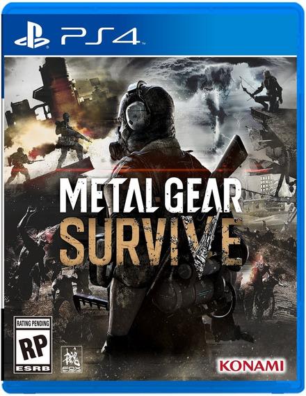 Frete Gratis - Metal Gear Survive - Ps4 Midia Fisica