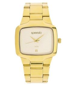 Relógio Speedo 64005l Dourado Unissex Em Oferta