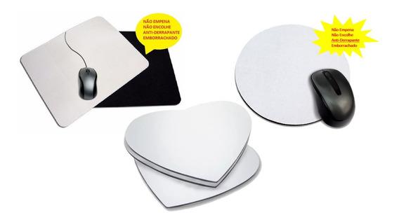 15 Mouse Pad Para Sublimação Redondo Neoplex 3mm Emborracha