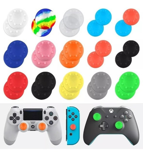 20 Gomas Protectoras Grip Silicon Para Xbox 360 One Ps3 Ps4