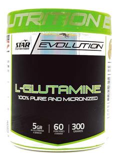 Glutamina X 300gr Star Nutrition Recuperador Muscular