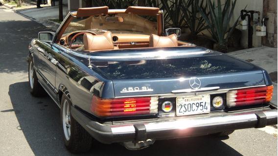 Mercedes Benz 450 Sl Convertible 1979