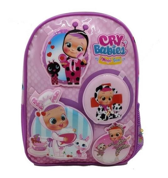 Mochila Cry Babies 12p Jardin 98300 Original