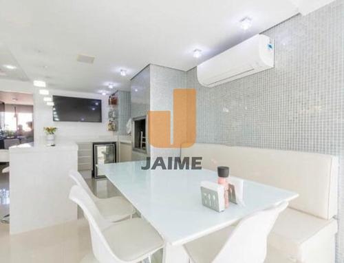 Cobertura Duplex, Com Muito Conforto, Ambientes Amplos, Varanda Gourmet, Em Ótima Localização.  - Bi4498