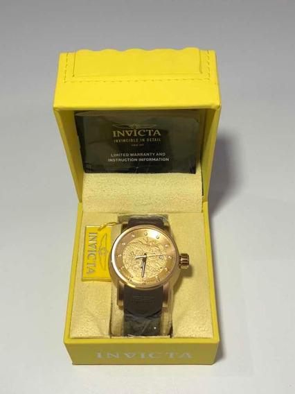 Relógio Invicta S1 Rally Yakuza (12790) Banhado A Ouro 18k
