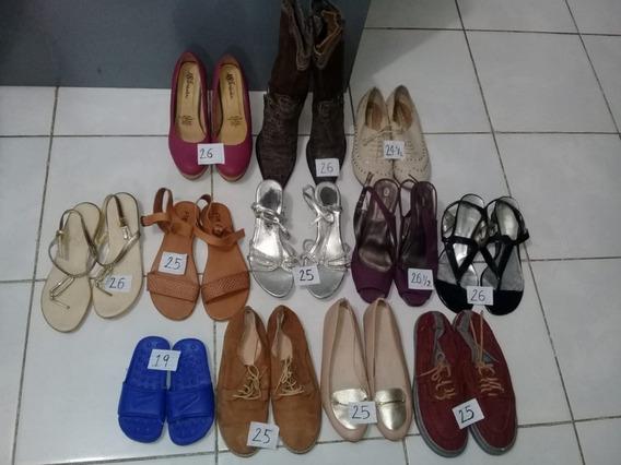 Zapato De Dama Y Niño