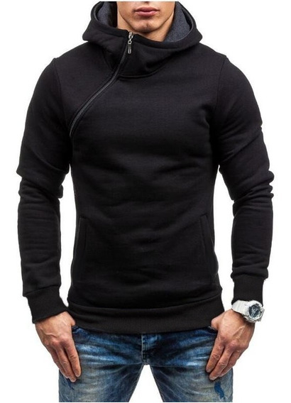 Sweater / Sueter Slim Fit Cierre Lateral