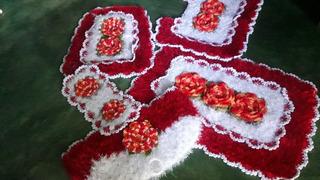 Croche Da Drica Jogo Banheiro Em Croche