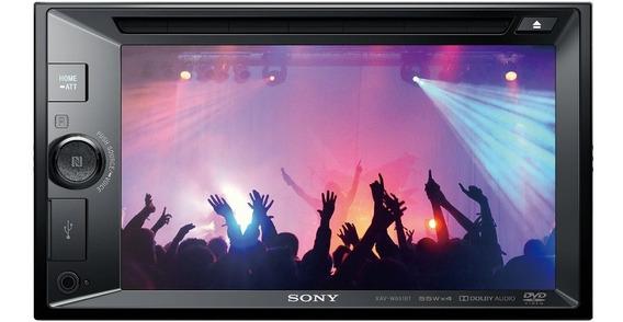 Sony Receptor De Dvd Con Lcd De 15,7cm Xav-w651bt