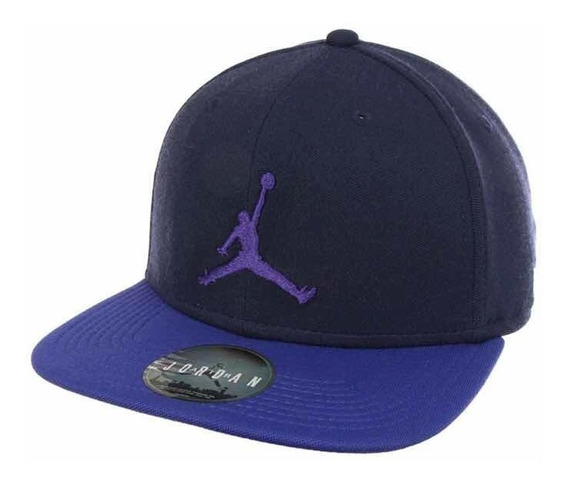 Gorra Snapback Air Jordan Jumpman Retro 4 Purple