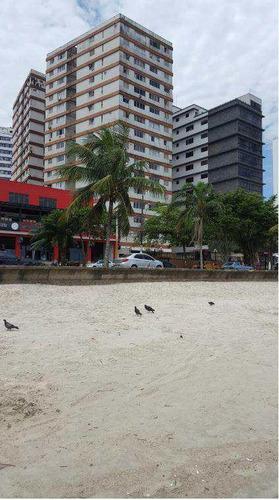 Apartamento Com 2 Dorms, Centro, São Vicente - R$ 390 Mil - V615