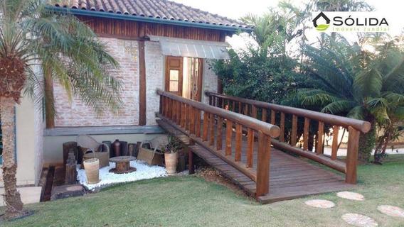 Lindissima Casa Para Venda E Locação Em Condomínio No Caxambú - Ca0230